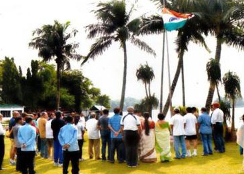 Hoisting of National Flag